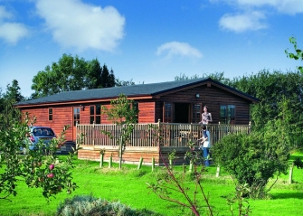 Log Cabin with Hot Tub York